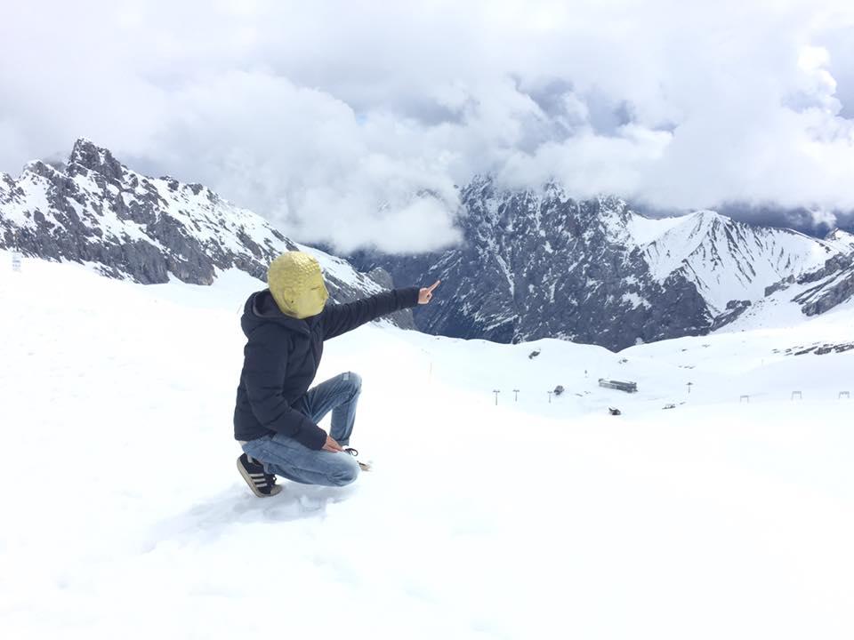 德國︳楚格峰-終年積雪的白色國度