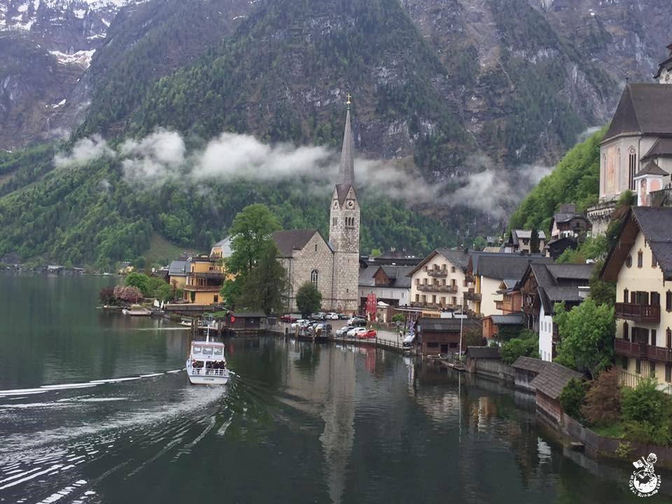 奧地利︳哈修塔特-世界上最美的湖畔小鎮