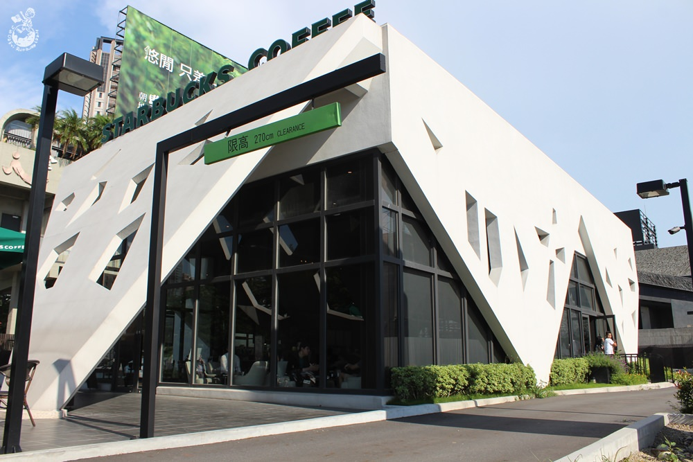 台中特色咖啡店︳STARBUCKS星巴克市政門市-首間進駐台中市中心的車道型門市