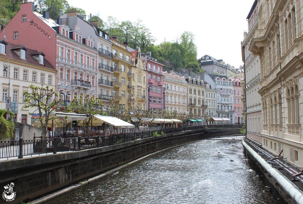 捷克︳卡羅維瓦利溫泉小鎮,在這裡溫泉是用來喝的!