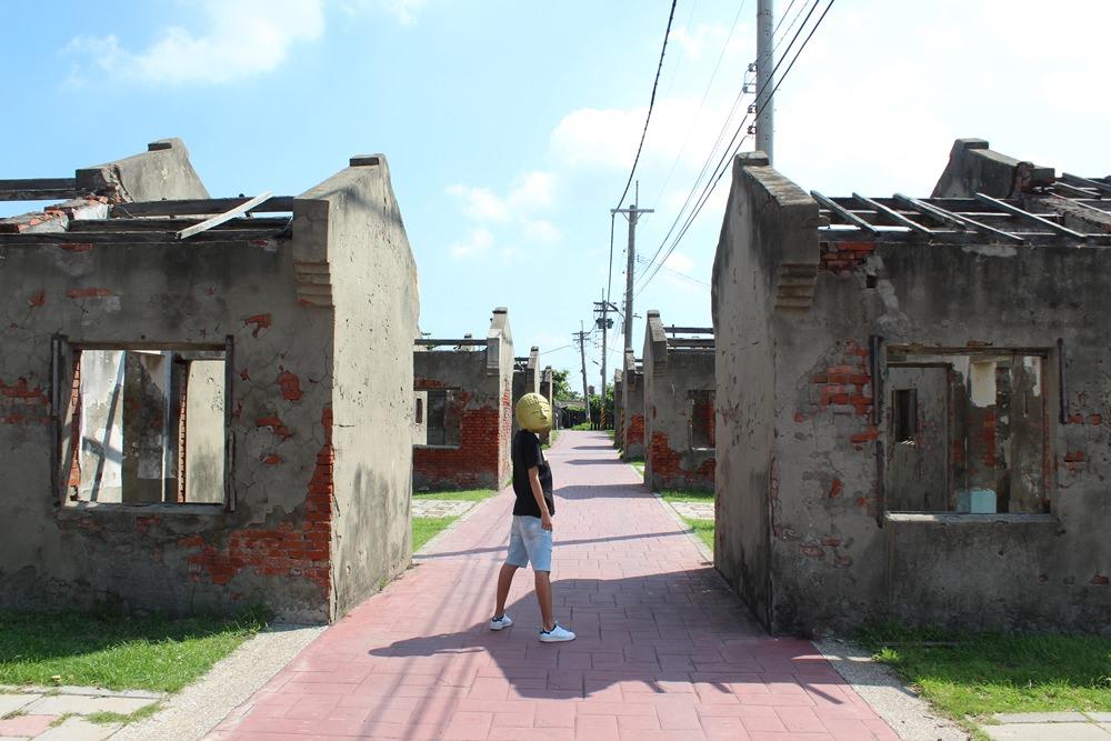 彰化線西︳蛤蜊兵營,台版小金門適合喜愛廢墟風的人來外拍