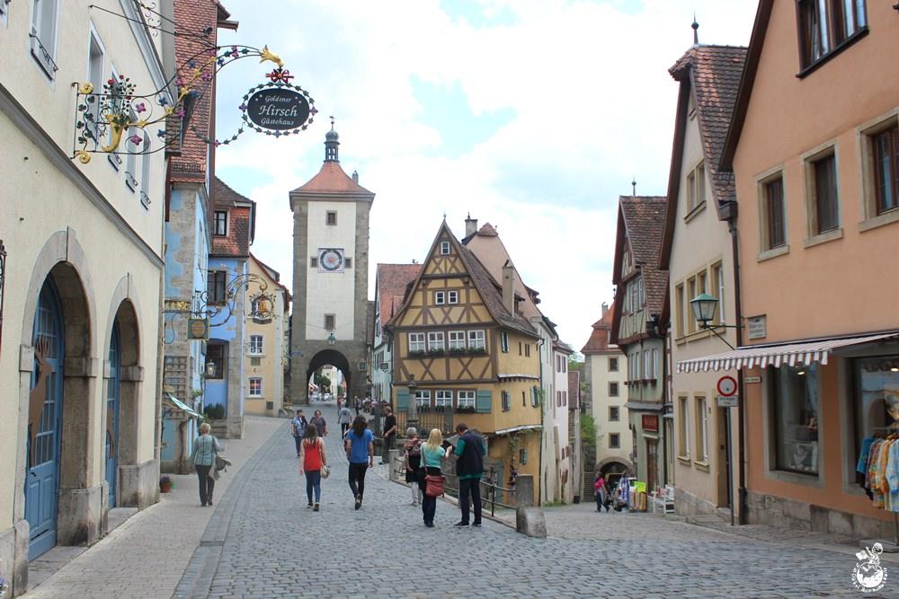 德國︳羅騰堡,保有中世紀風情的浪漫童話小鎮