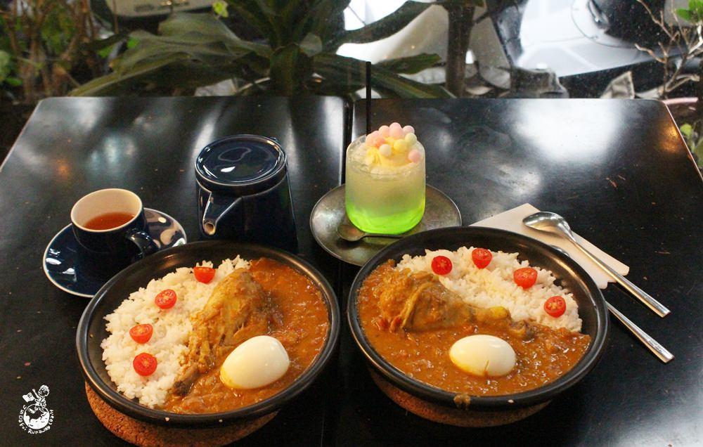 中山站美食︳61note,有好吃咖哩飯的咖啡館/酒吧/日式雜貨店
