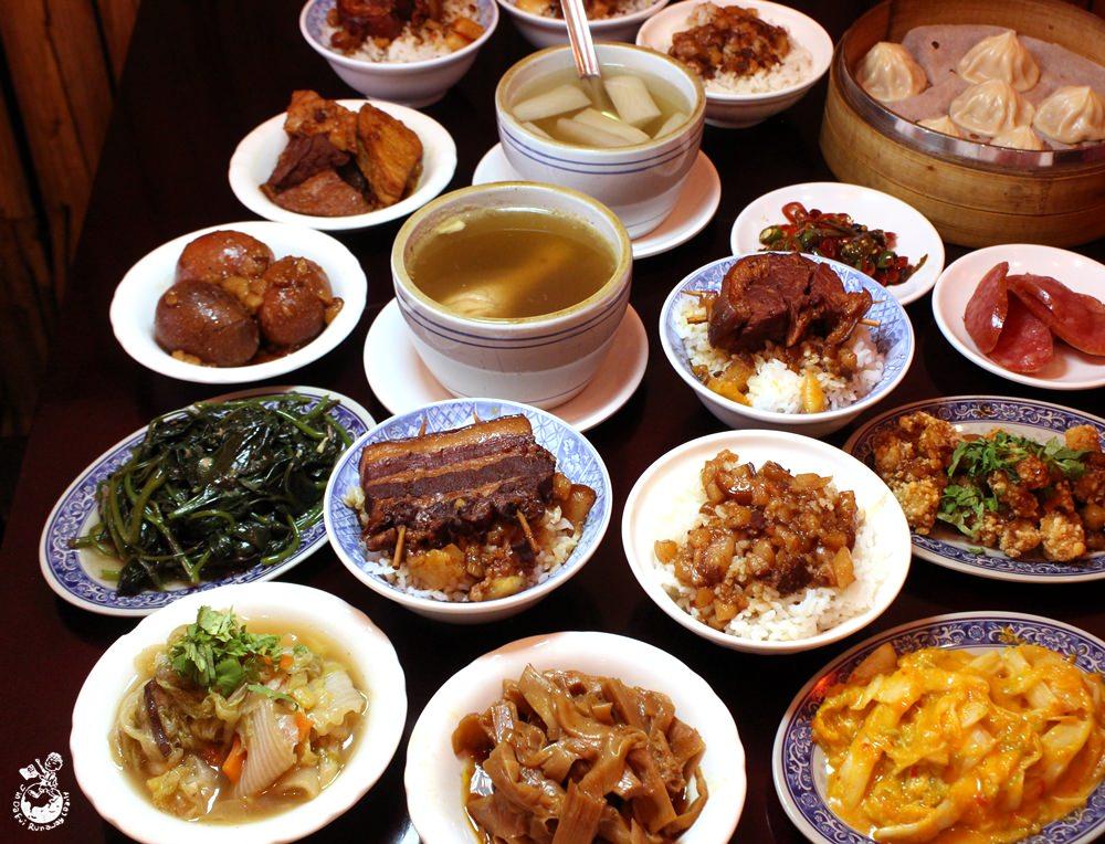台中魯肉飯︳瓦御魯肉飯- 2017台灣滷肉飯節嚴選店家,小菜/麵食/燉湯應有盡有