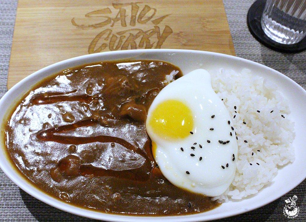 台北咖哩︳佐藤咖哩-彷彿在美式潮牌店用餐的高人氣日式咖哩