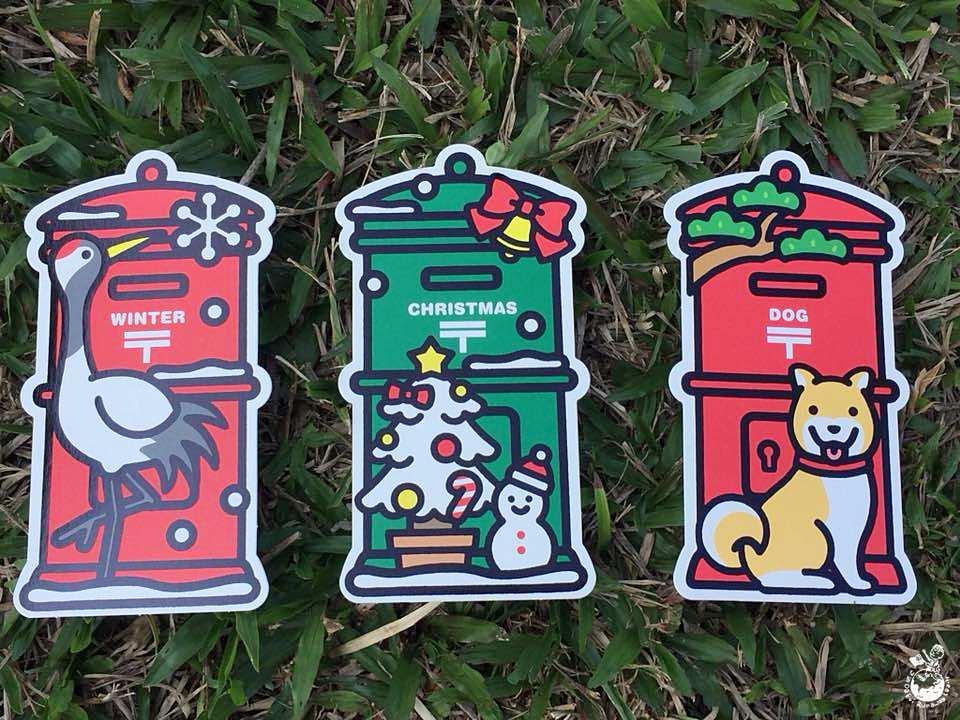 日本郵便局當地特色明信片2017冬季限定郵筒片