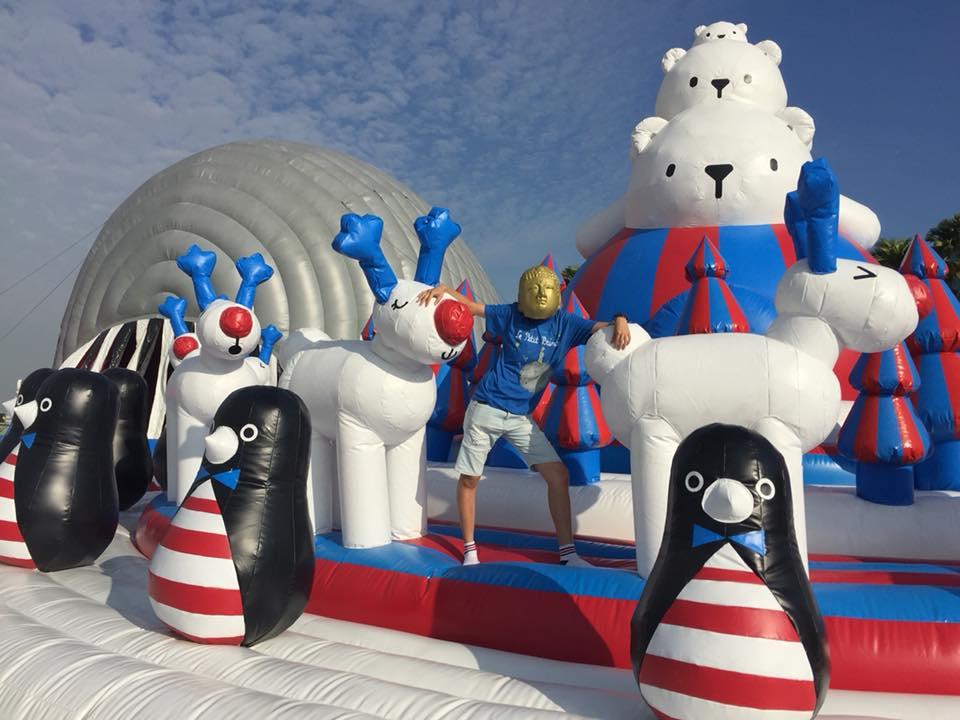 藝術動物園 ART-ZOO – 座落夢時代旁的氣墊遊樂園,寒假高雄親子旅遊的好去處!