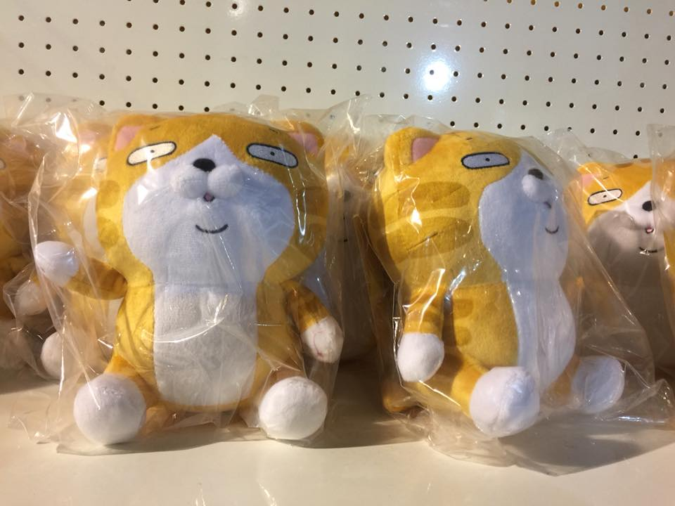 台北展覽︳白爛貓超有事特展(紀念品篇)