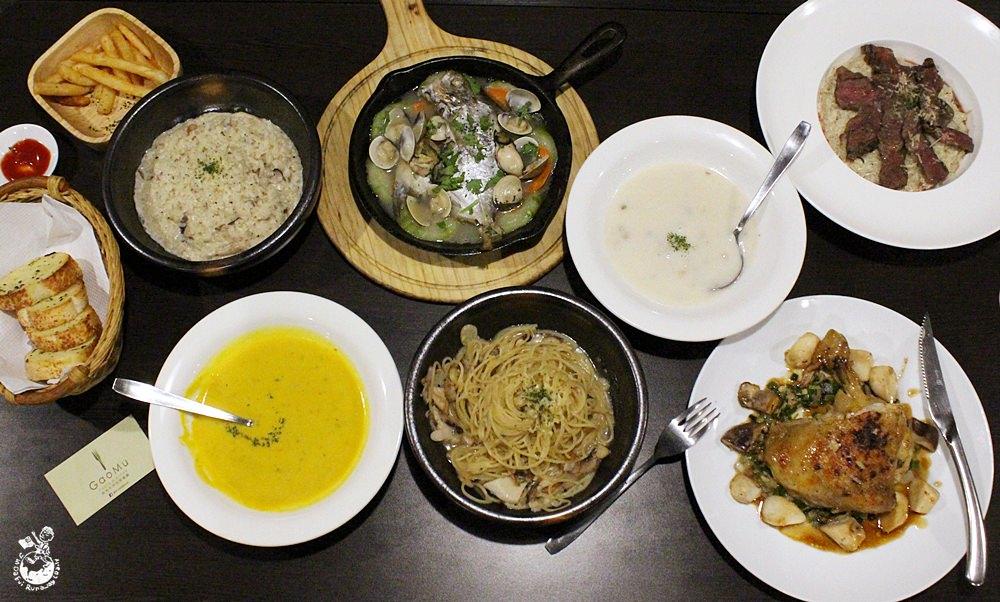 台中義大利麵︳高沐手作料理餐廳-隱藏在科博館周邊的巷弄美食,物超所值的平價義大利麵