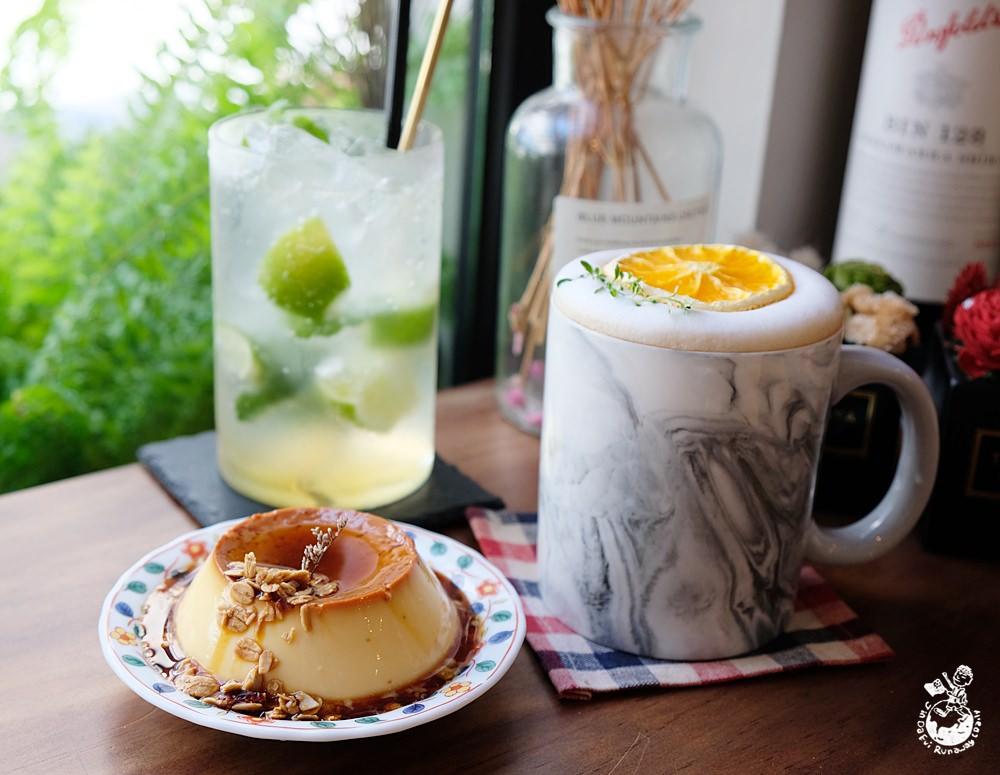 台北咖啡︳李氏咖啡-東區網美咖啡店兼餐酒館,焦糖雞蛋布丁IG熱門打卡甜點