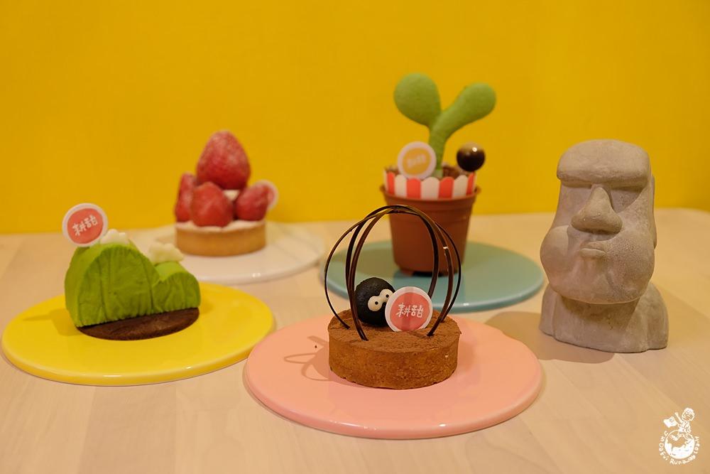 台中甜點推薦︳耕者有其甜-隱藏在向上市場的熱門IG打卡甜點店,甜點都好萌好好拍!