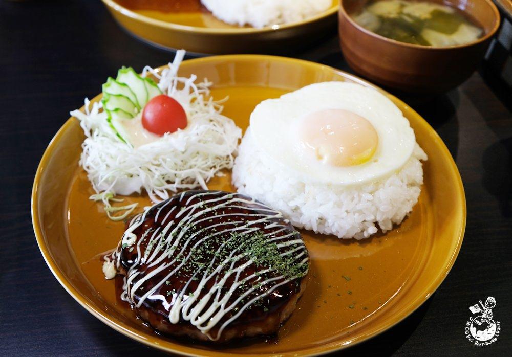 惠比壽和風漢堡排專門店-日本人開的日式風味漢堡排,隱藏在台中西區華美西街