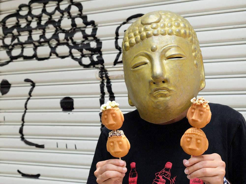台中雞蛋糕︳大佛雞蛋糕-DIY幫大佛做頭髮,就在台灣惠蓀咖啡審計店