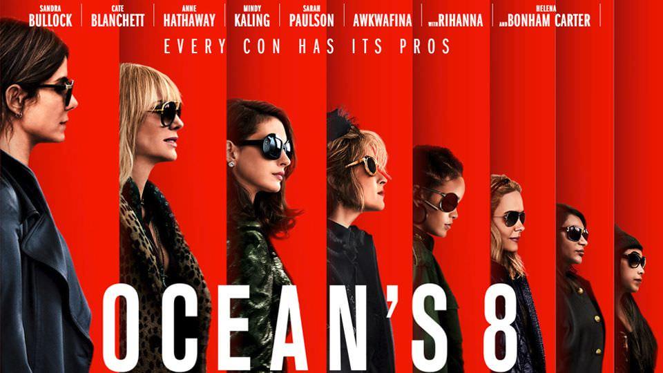 《瞞天過海:八面玲瓏》不是一齣過癮的竊盜電影,而是一場性感美艷的時尚秀!