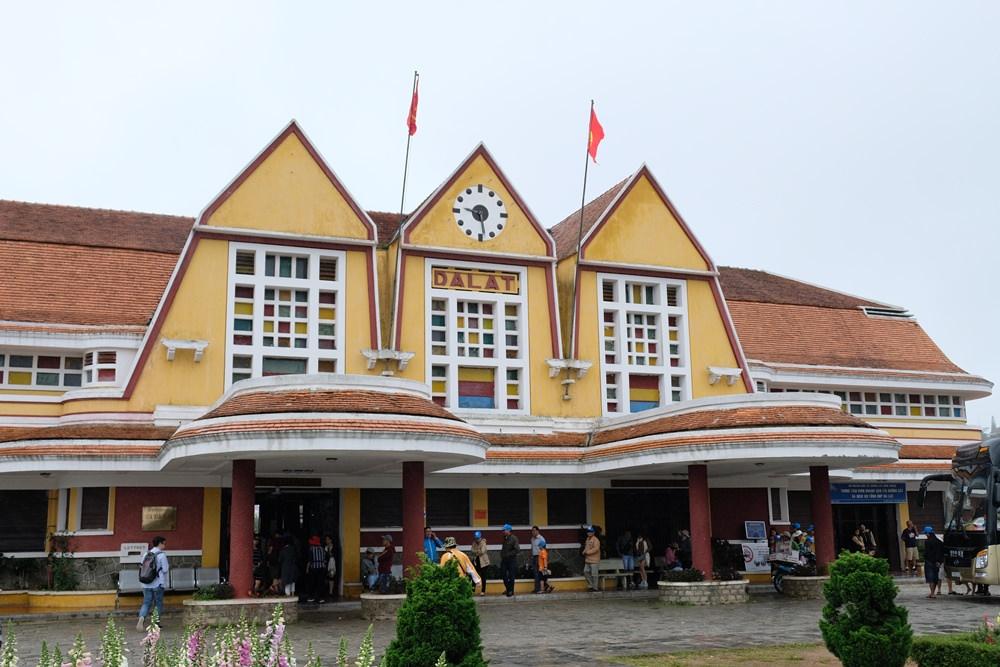 大叻火車站-越南最老的火車站,來趟七公里的懷舊火車之旅