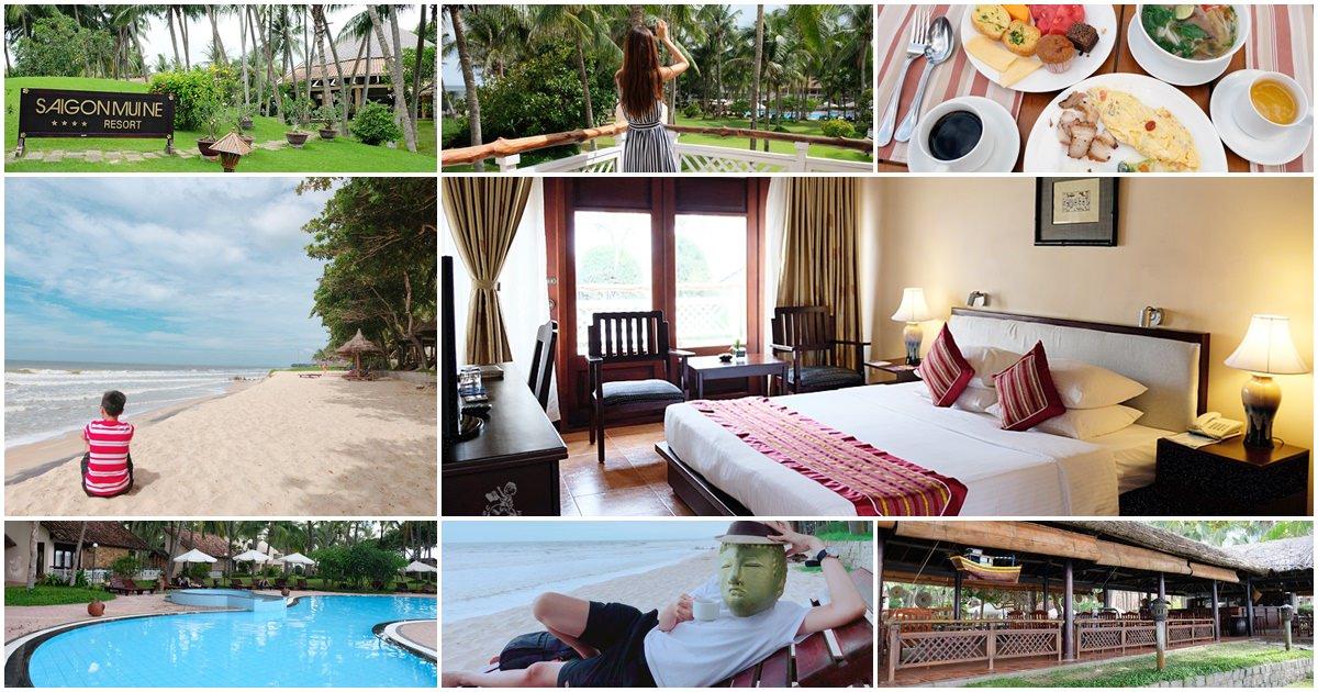 西貢美奈渡假村Saigon Muine Resort-近紅沙漠白沙漠,擁有私人海灘適合親子旅遊