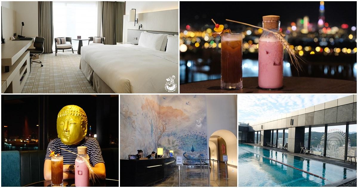 台北住宿︳萬豪酒店Taipei Marriott Hotel-房間簡約有美麗華摩天輪相伴,眺望101景觀酒吧情侶約會超推薦!