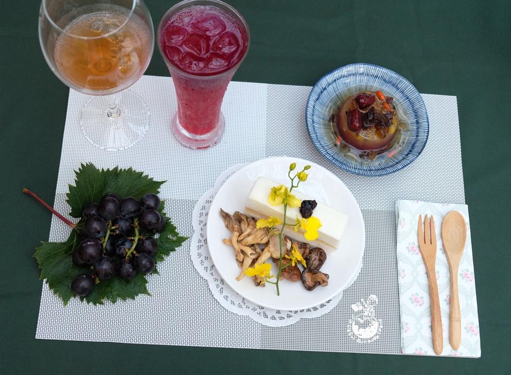 新社葡萄樹下午茶