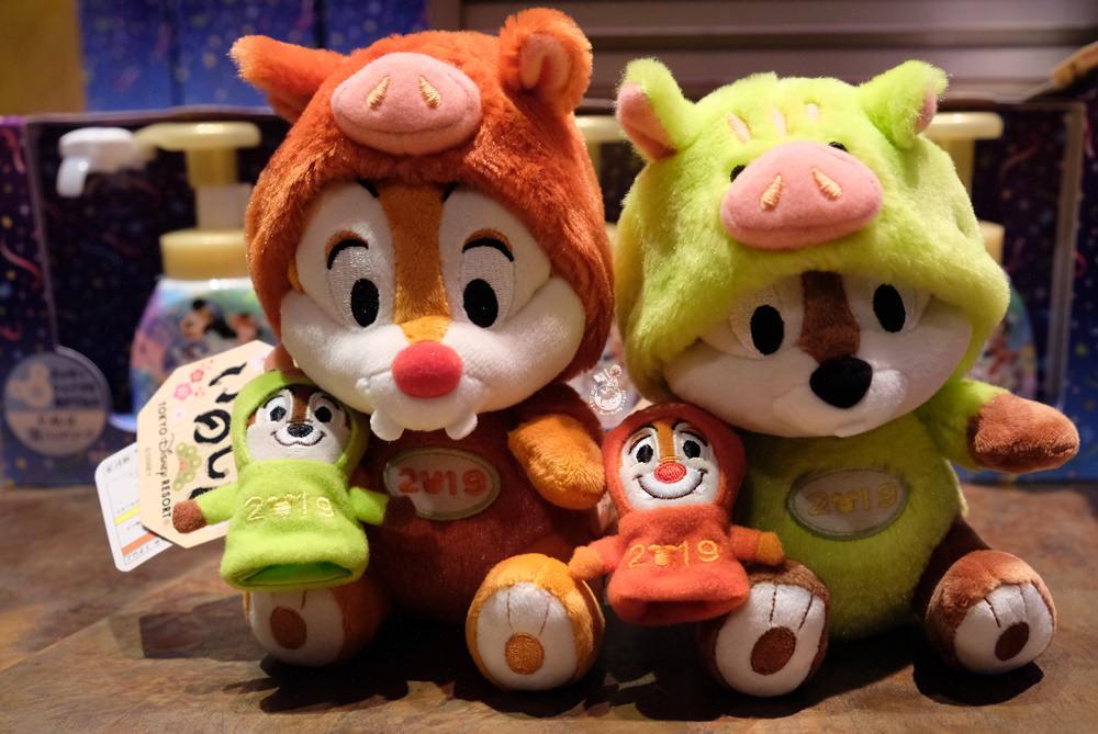 東京迪士尼2019豬年限定娃娃
