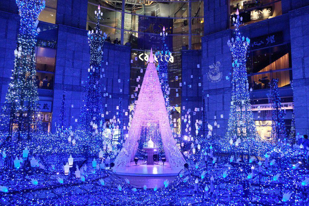 汐留Caretta聖誕點燈:2019阿拉丁登場!迪士尼迷必看的東京聖誕點燈