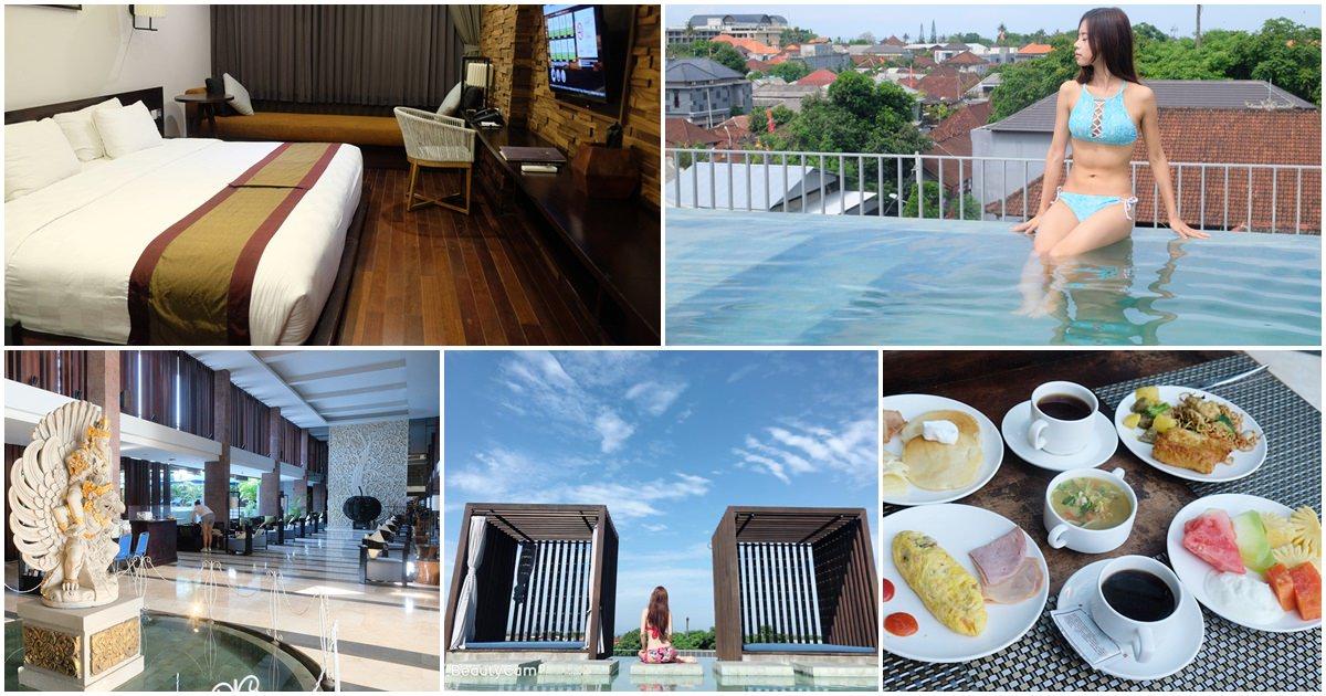峇里島水印酒店Watermark Hotel-鄰近峇里島機場的日系飯店,有兩座戶外泳池