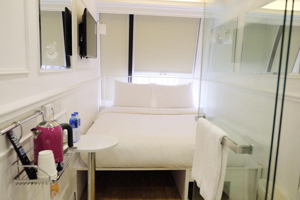 香港住宿︳銅鑼灣迷你酒店Mini Hotel-房間精簡舒適,一千五有找又方便的現代風酒店