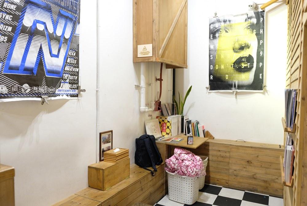 香港上環洗衣咖啡館