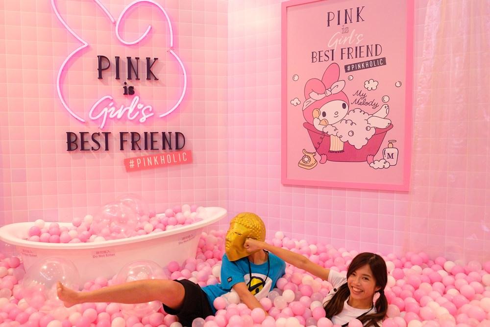 三麗鷗粉紅閨蜜期間限定店