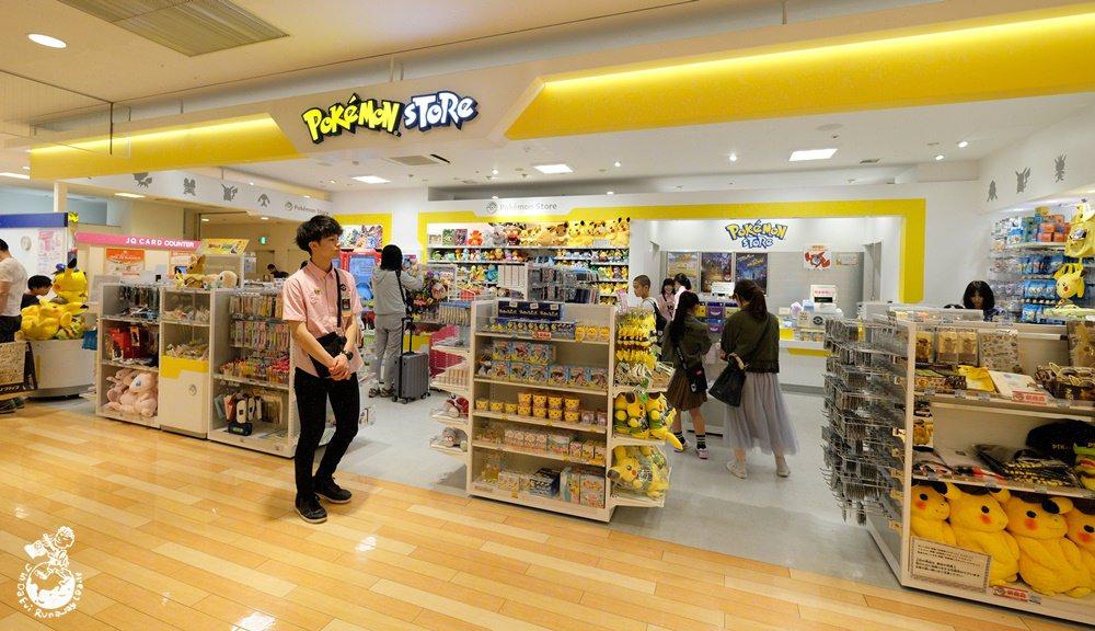 鹿兒島寶可夢專賣店:鹿兒島中央駛Pokemon Store