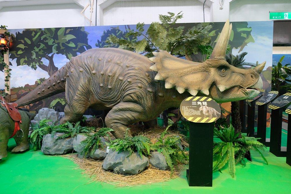 侏羅紀x恐龍樂園台中站