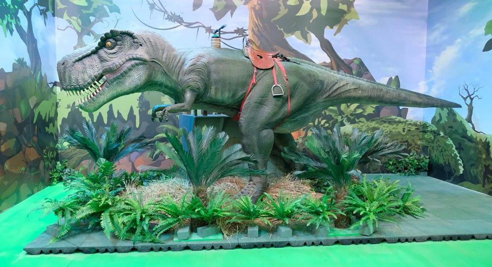 侏羅紀x恐龍樂園 台中站