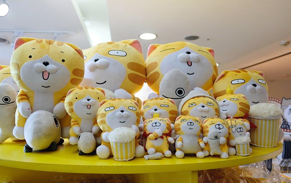 白爛貓新光電影快閃店