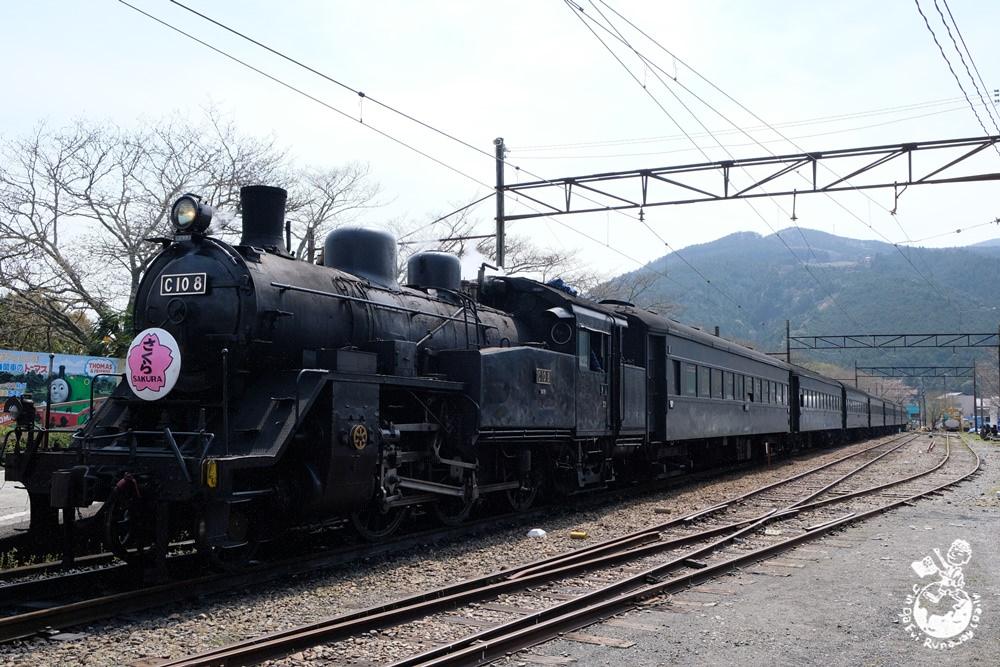 大井川鐵道復古SL蒸氣火車