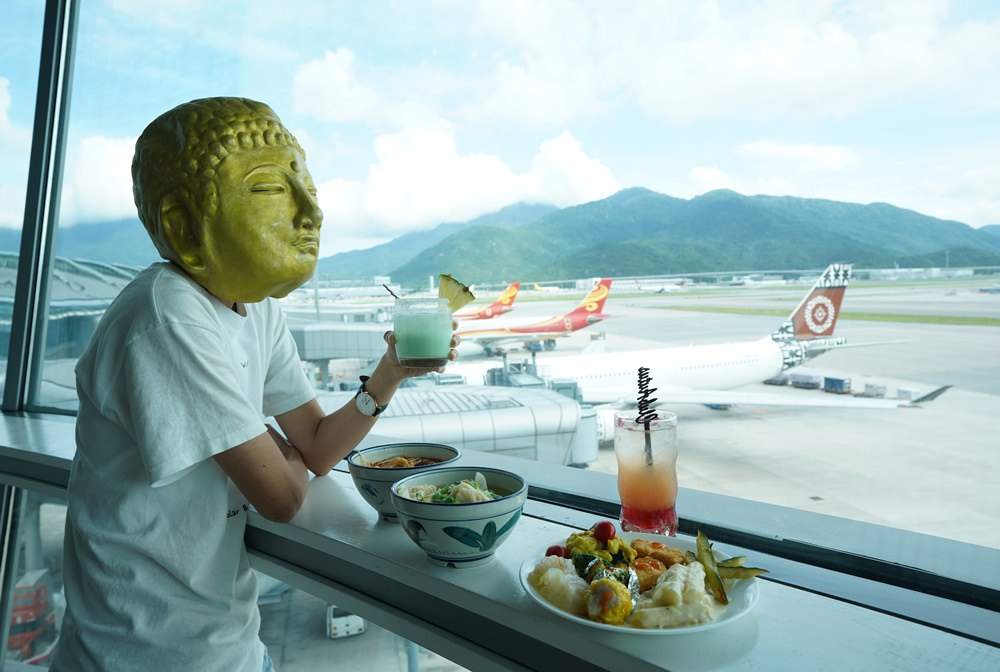 香港航空貴賓室