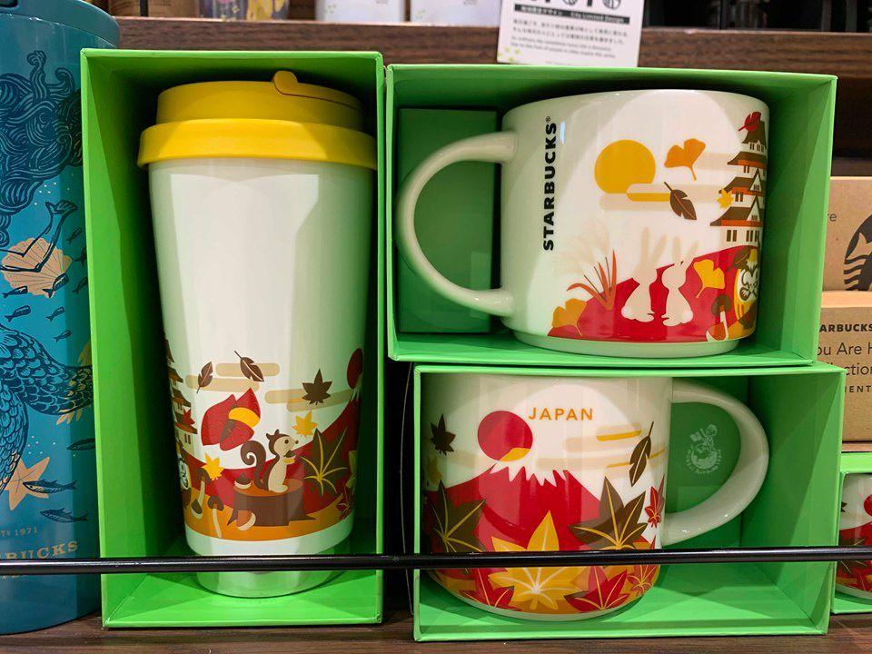 日本星巴克秋季限定富士山杯