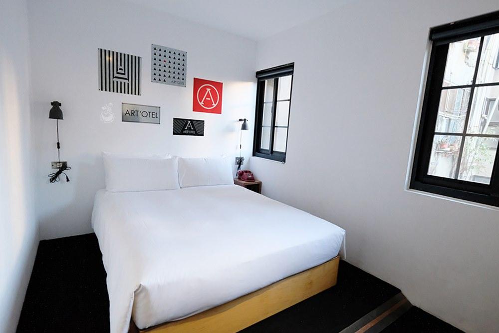 台北住宿︳艾特文旅西門町:有設計感又平價的西門町住宿推薦,兩千多還能免費洗衣服