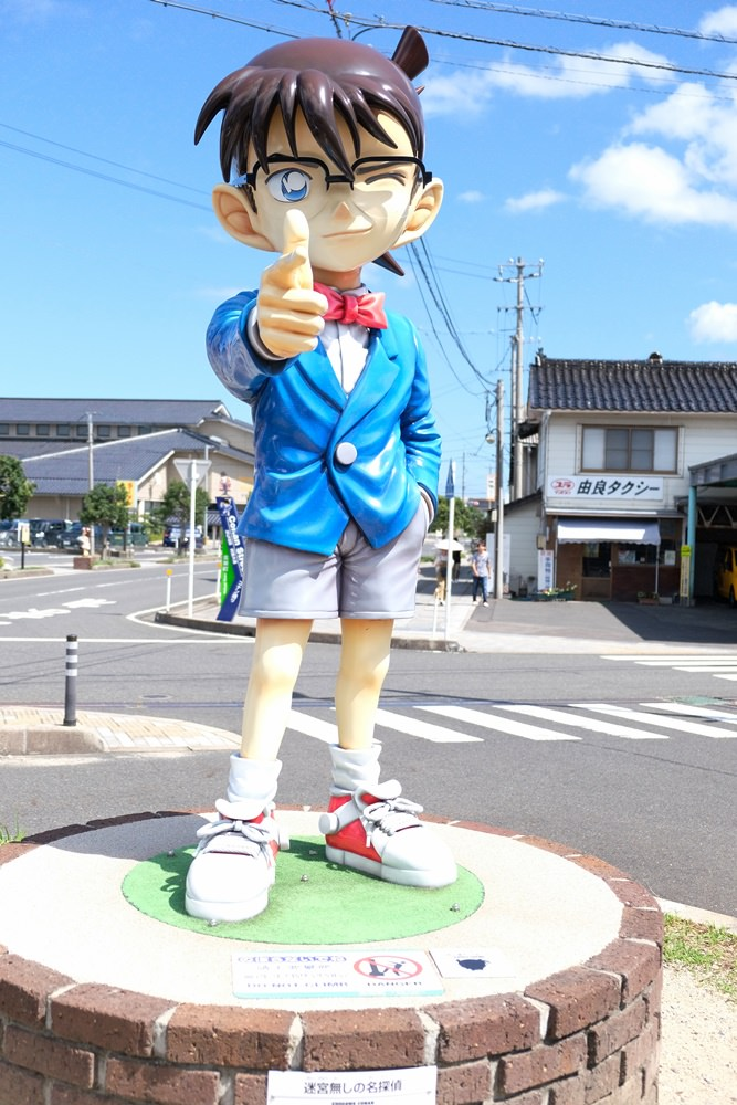鳥取柯南車站