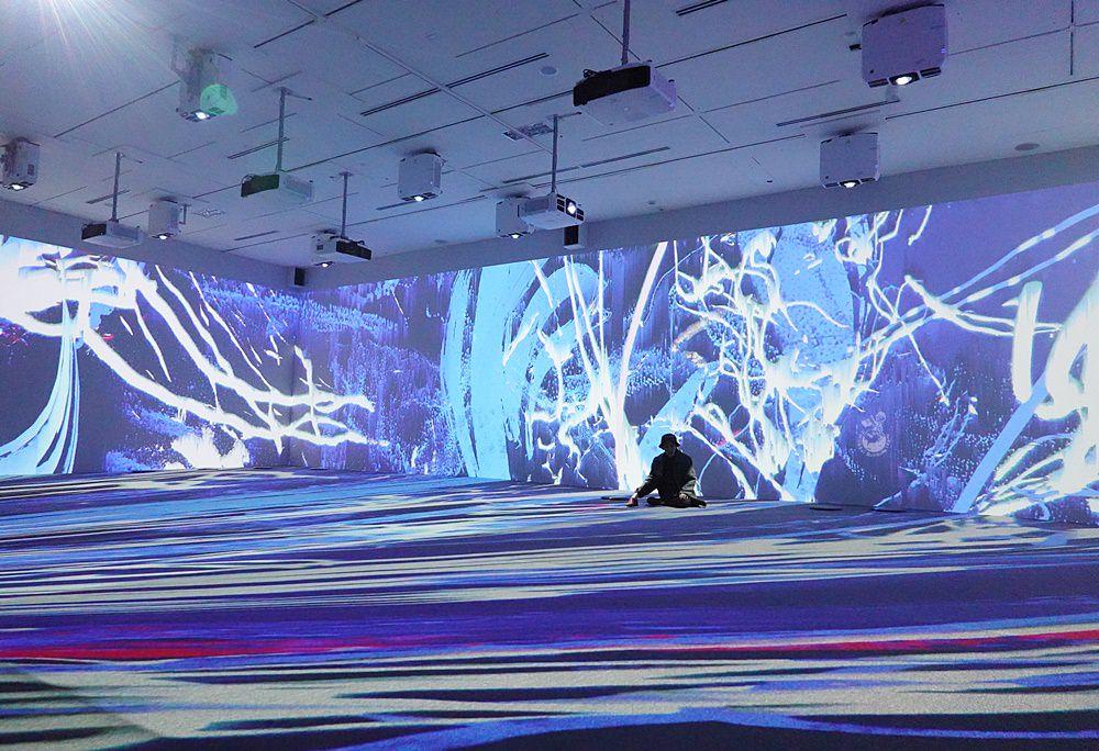 台中國美館「光之書寫台灣國際光影藝術節」︳2020台中燈會期間限定景點