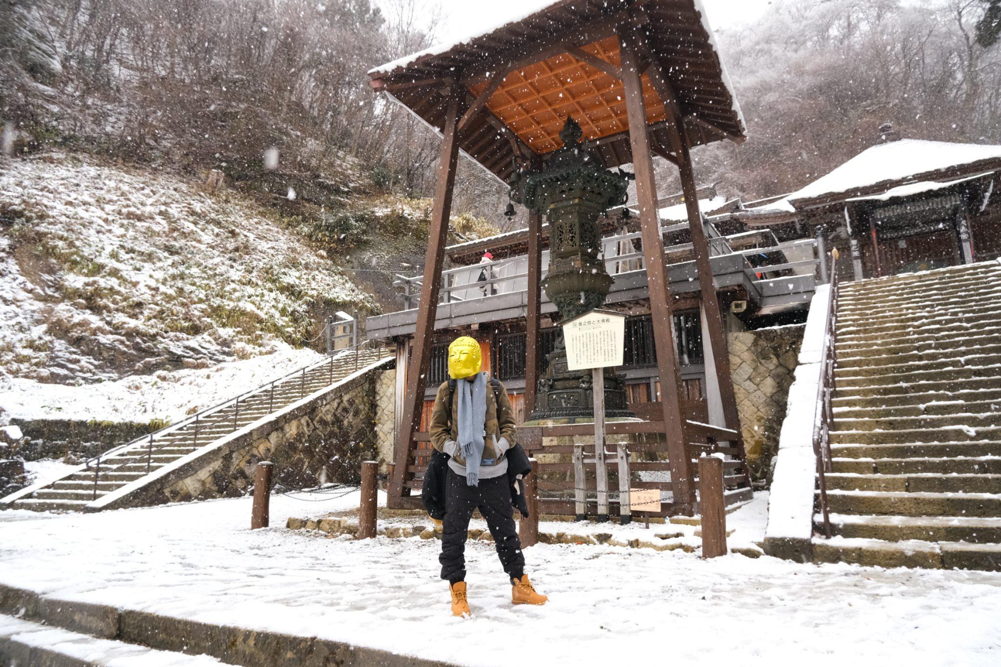 山形山寺冬天