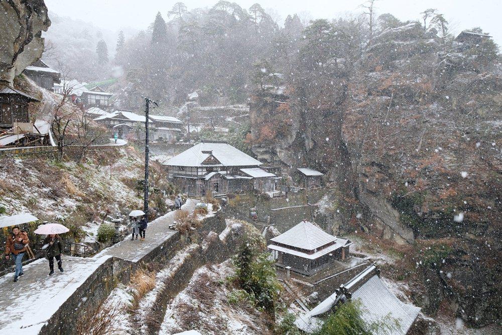 山形︳山寺(立山寺):白雪紛飛絕美山景,跟隨松尾芭蕉踏上山寺淨化心靈之旅