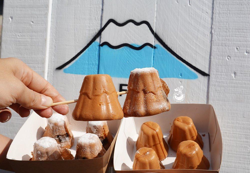 高雄雞蛋糕︳富士先生雞蛋糕:下雪富士山雞蛋糕,駁二甜點2020新寵兒