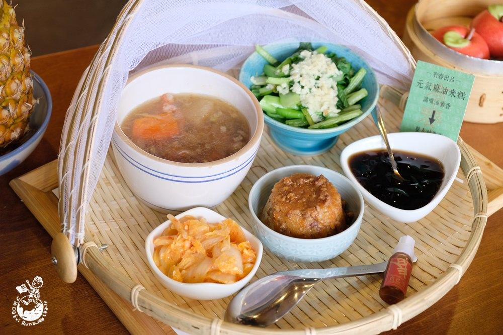 有春茶館大墩店︳比春水堂更具台味的台中茶館,手路菜和茶飲有春茶館菜單全都有