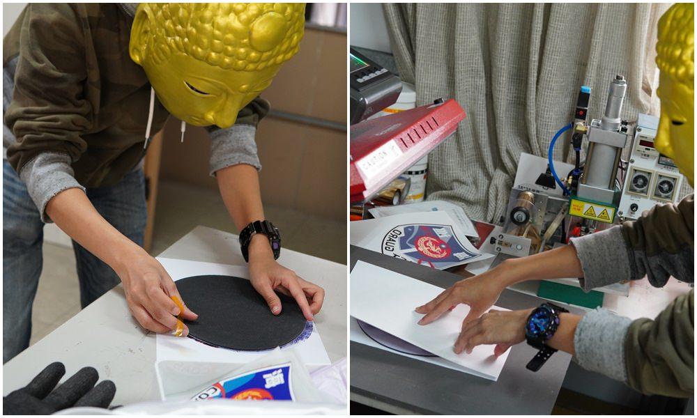 滑鼠墊轉印流程-熱轉印機推薦