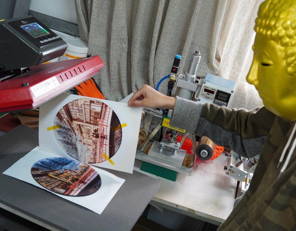 滑鼠墊熱轉印過程-熱轉印機推薦
