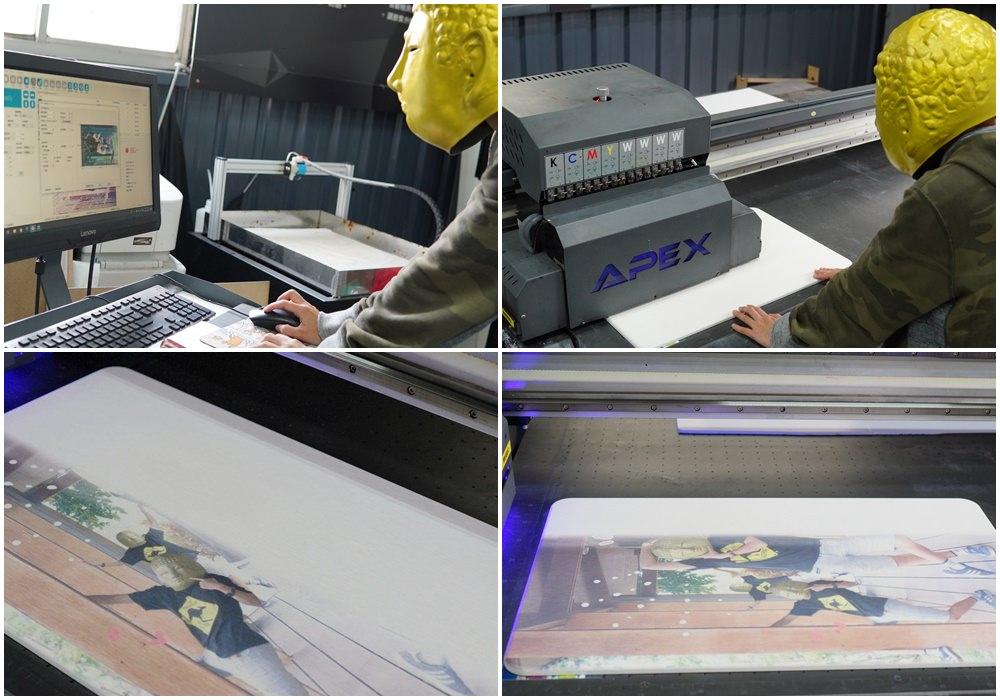 客製化珪藻土地墊印製過程-UV直噴機推薦
