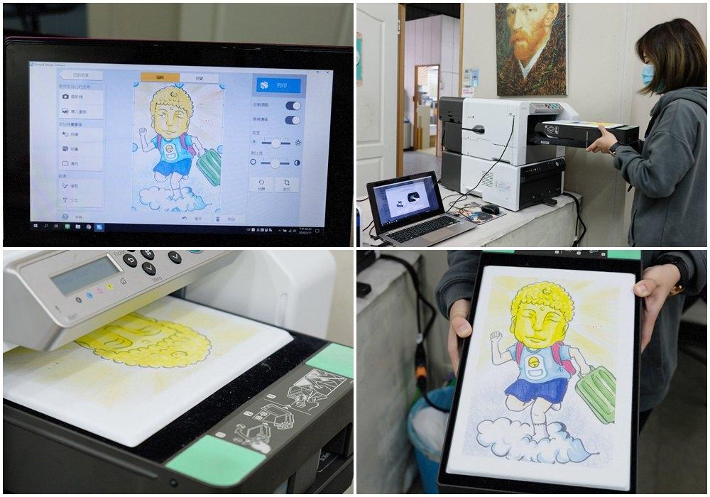 客製化衣服印製流程-紡織直噴機推薦