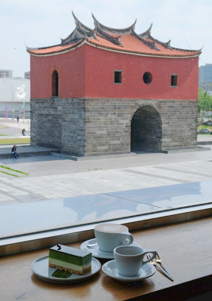 MKCR山小孩咖啡︳直擊北門古蹟的純白色台北咖啡廳,近台北車站