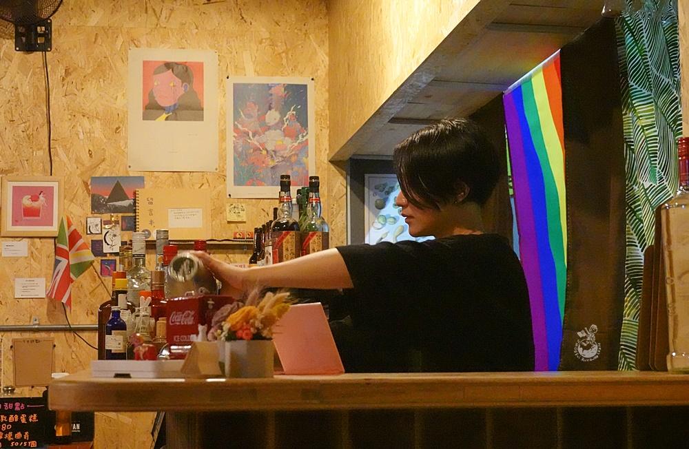 台中酒吧︳Tendr Aromantic 模範市場裡的性別友善酒吧,
