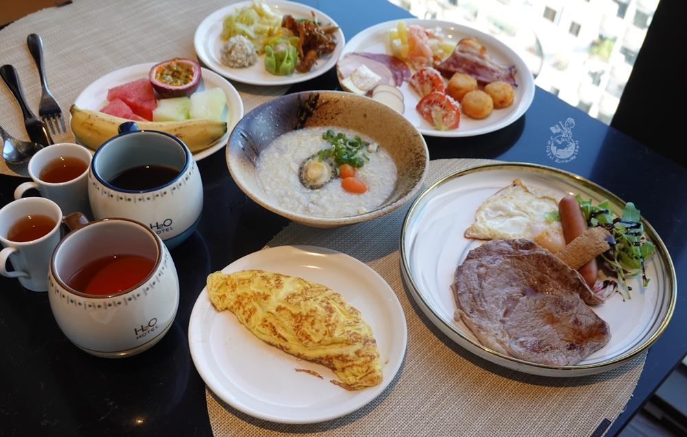 H2O水京棧國際酒店早餐