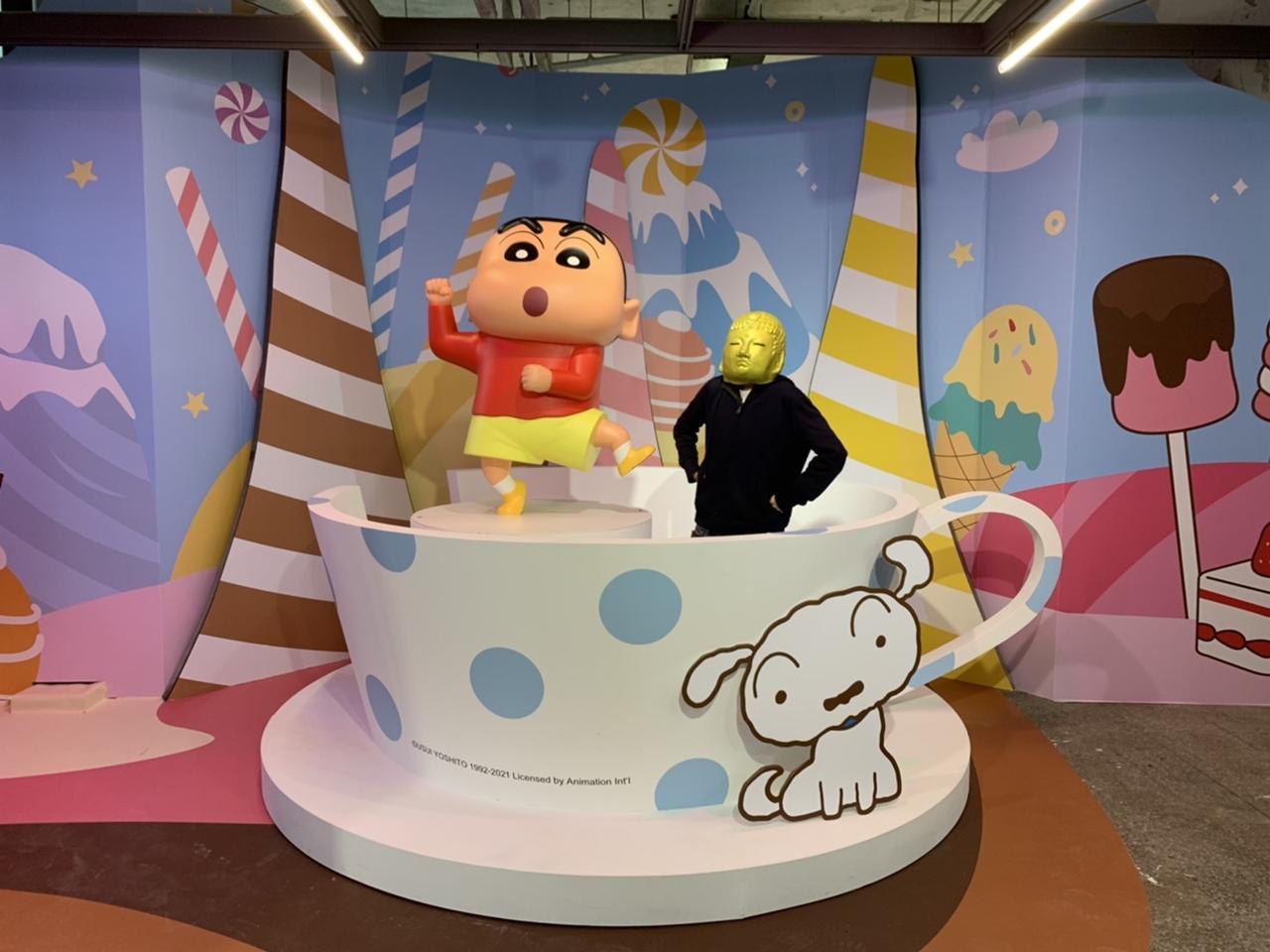 蠟筆小新30周年限定店《甜點大冒險》免費參觀!5種闖遊戲x限定周邊商品